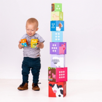 Farmyard Stacking Cubes